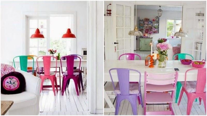 chic deco silla tolix piensa en chic. Black Bedroom Furniture Sets. Home Design Ideas