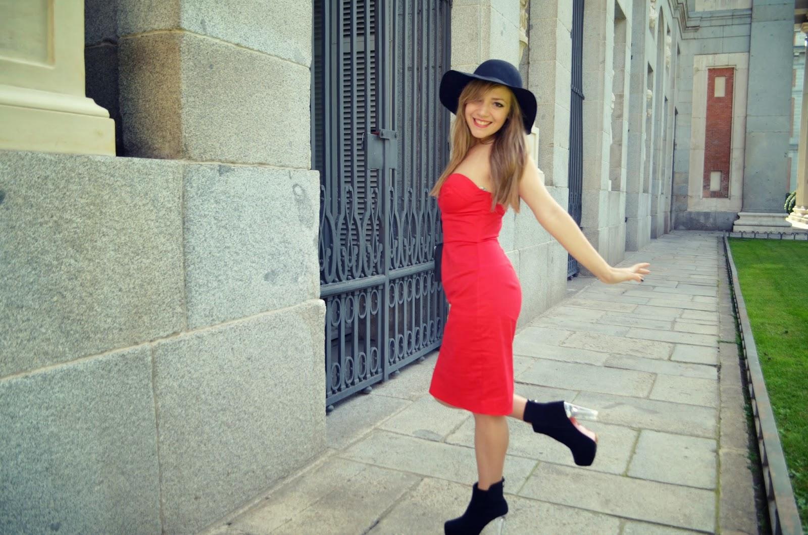 Chicadicta Chic Adicta Fashion Blogger Vestido Rojo Red