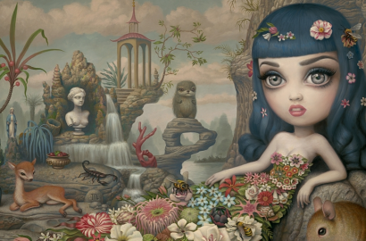 Pop-SurrealistMark-Ryden-paitings-arte-de-vanguardia-pop-art-cute-style-blod-de-moda-cuadros-para-chicas-PiensaenChic-Piensa-en-Chic