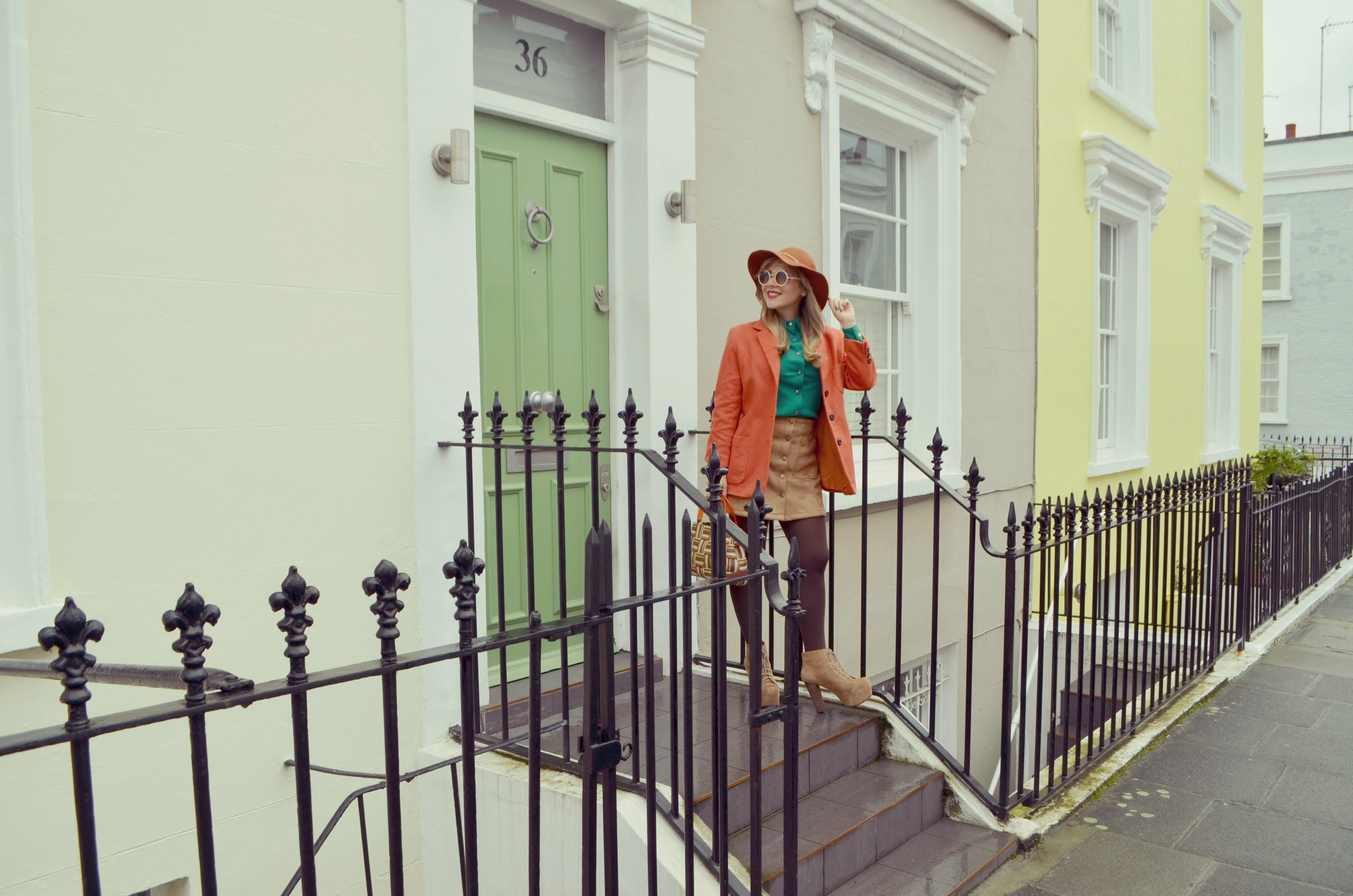 Blog-de-moda-ChicAdicta-Vintage-look-Chic-Adicta-london-street-style-camel-outfit-JustFab-PiensaenChic-Piensa-en-Chic