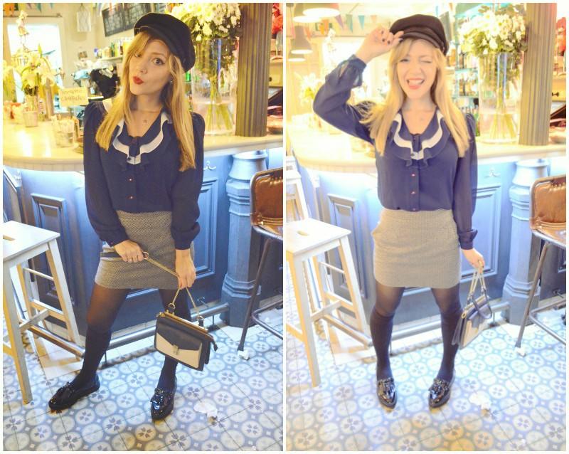La-Verbena-cafe-Malasana-Vintage-look-outfit-marinero-blog-de-moda-medias-hasta-las-rodillas-ChicAdicta-Chic-Adicta-PiensaenChic-Piensa-en-Chic