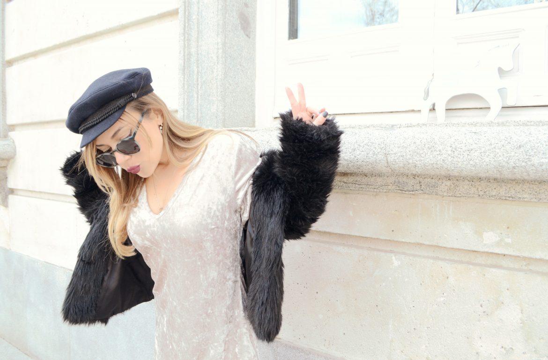 Fashionista-colgante-alex-and-ani-blog-de-moda-ChicAdicta-Velvet-look-justfab-vestido-de-terciopelo-outfit-Chic-Adicta-PiensaenChic-Piensa-en-Chic
