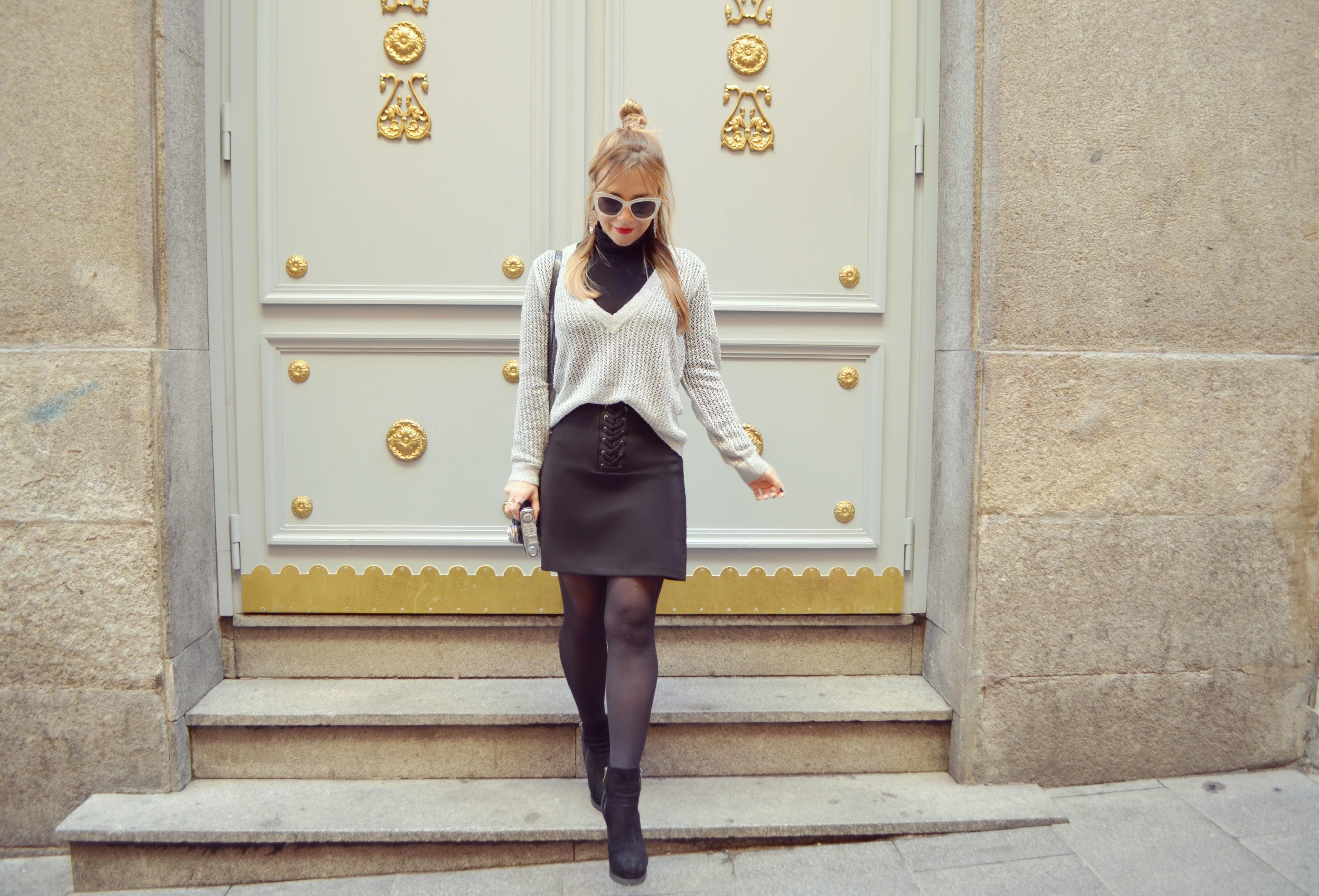 Blog-de-moda-ChicAdicta-Amichi-look-Chic-Adicta-falda-negra-casual-style-silver-Monki-sunglasses-Piensa-en-Chic-Piensa-en-Chic