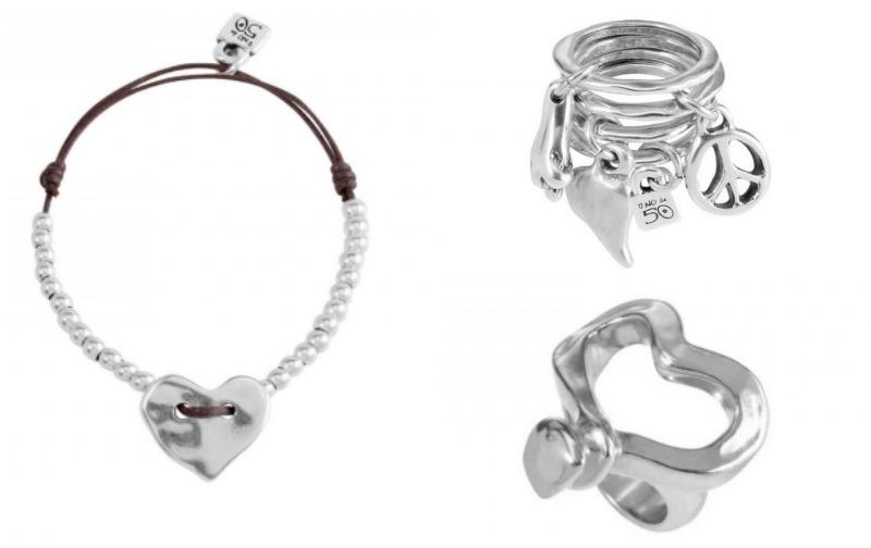 Blog-de-moda-fashionista-anillos-de-corazones-Unode50-pulseras-de-plata-PiensaenChic-Piensa-en-Chic