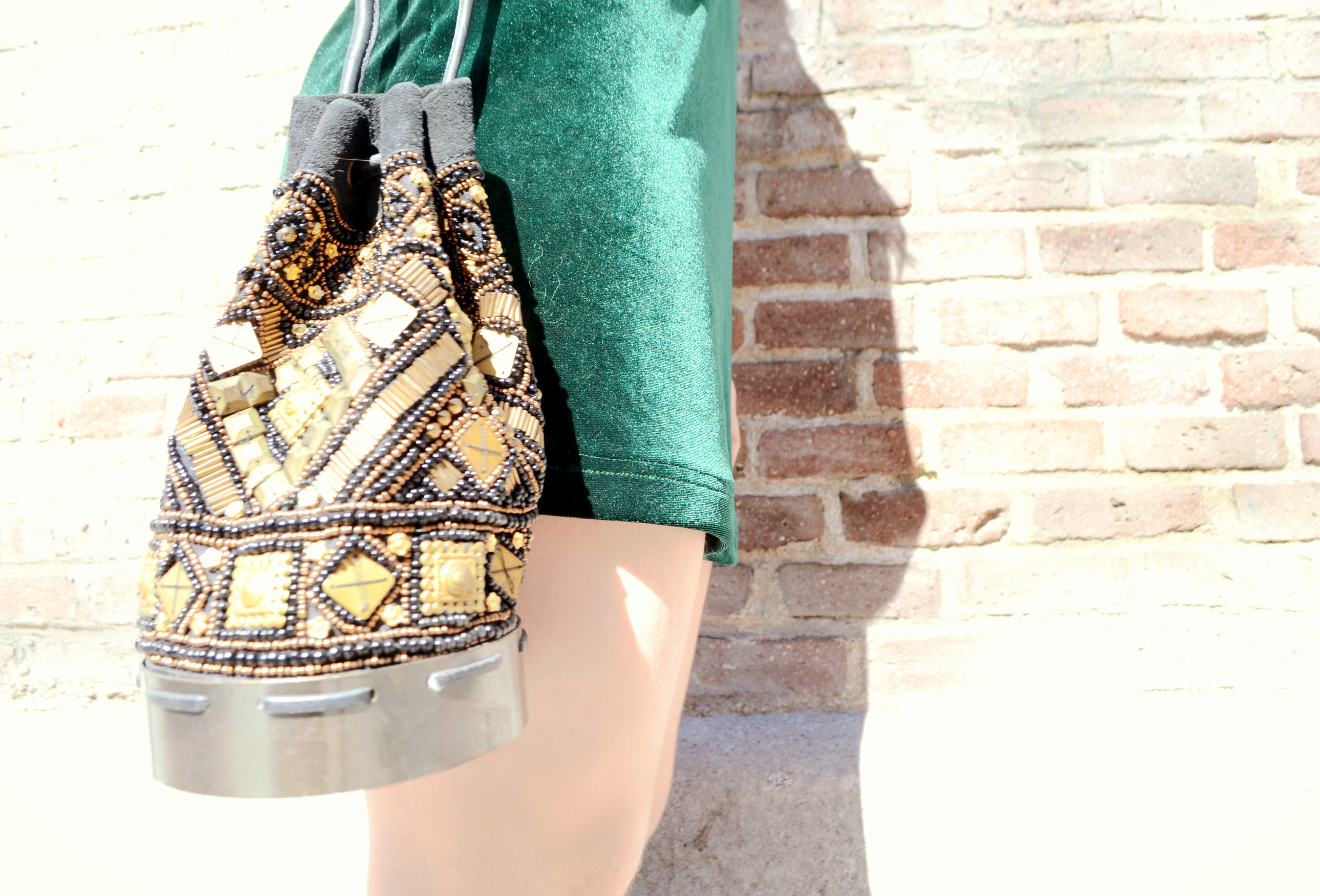 Blog-de-moda-ChicAdicta-fashionista-velvet-dress-shein-Chic-Adicta-vestido-verde-boho-style-spring-outfit-PiensaenChic-Piensa-en-Chic