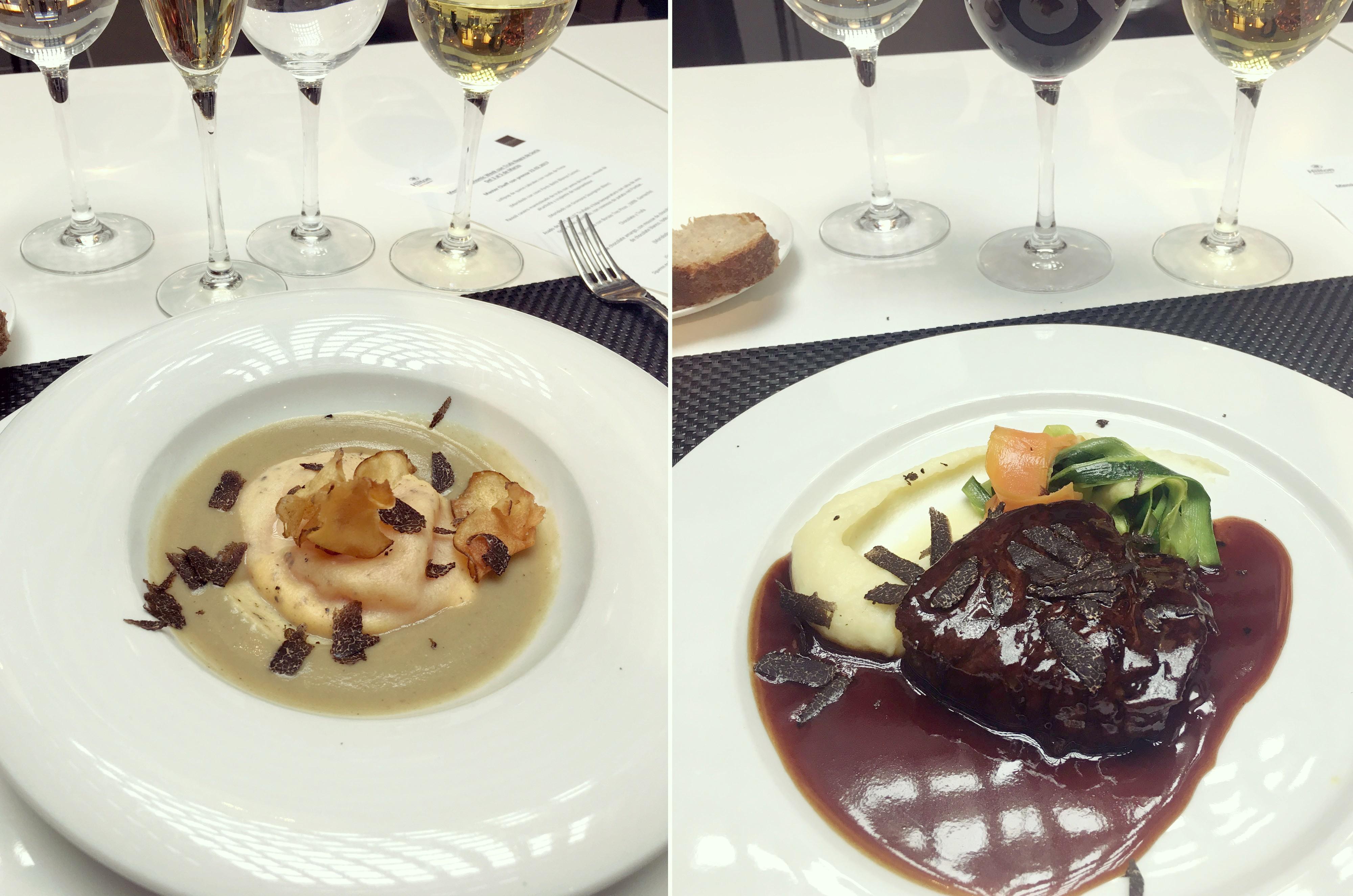 Semana-gastronomica-hilton-madrid-airport-ravioli-con-trufa-ChicAdicta-beff-fillet-foodie-Chic-Adicta-PiensaenChic-Piensa-en-Chic