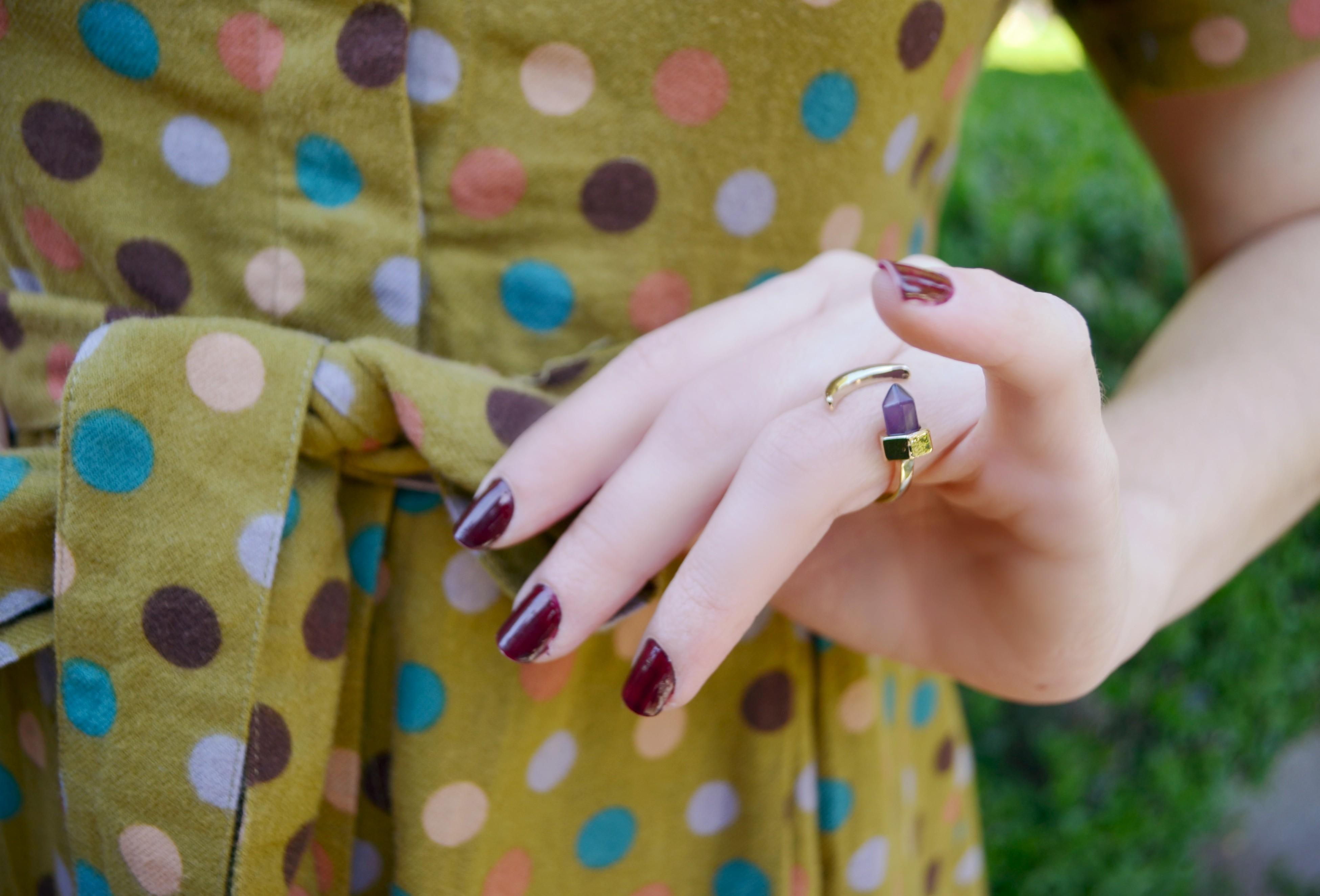 ChicAdicta-Blog-de-moda-Chic-Adicta-fashionista-happiness-boutique-ring-vestido-de-lunares-spring-look-PiensaenChic-Piensa-en-Chic