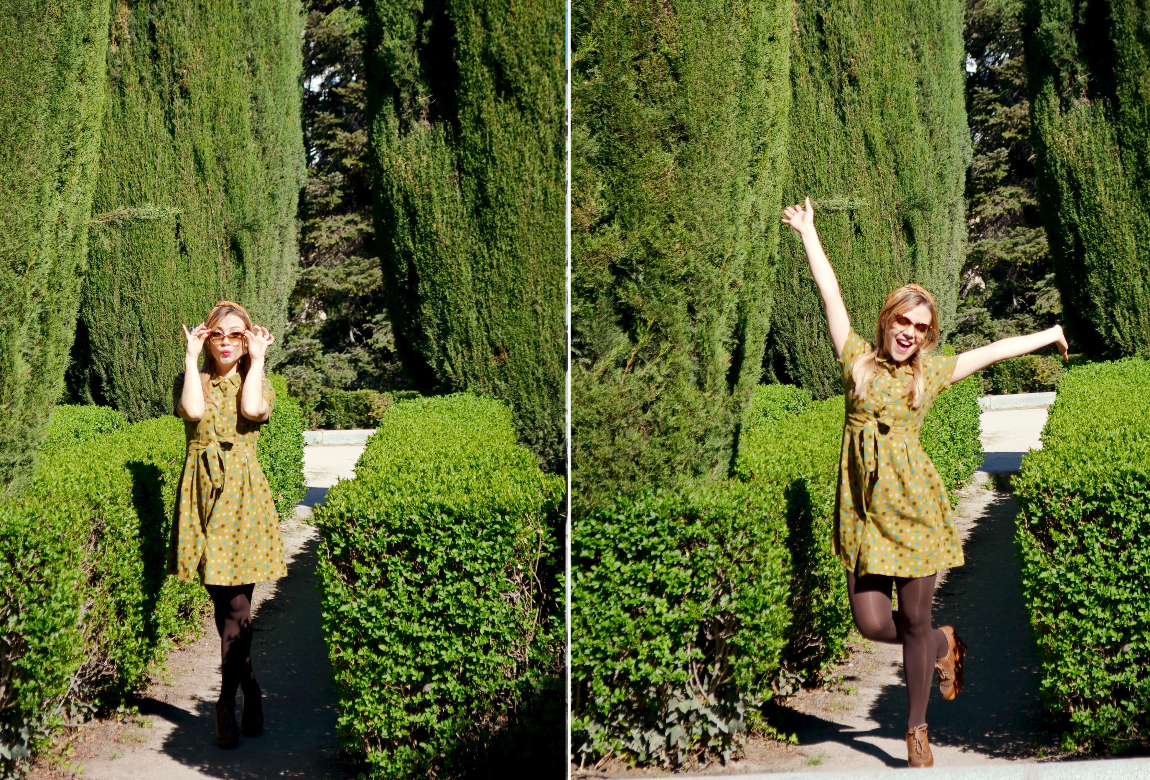 ChicAdicta-blog-de-moda-fashionista-Chic-Adicta-influencer-Madrid-vestido-de-lunares-polkadot-dress-look-de-primavera-PiensaenChic-Piensa-en-Chic