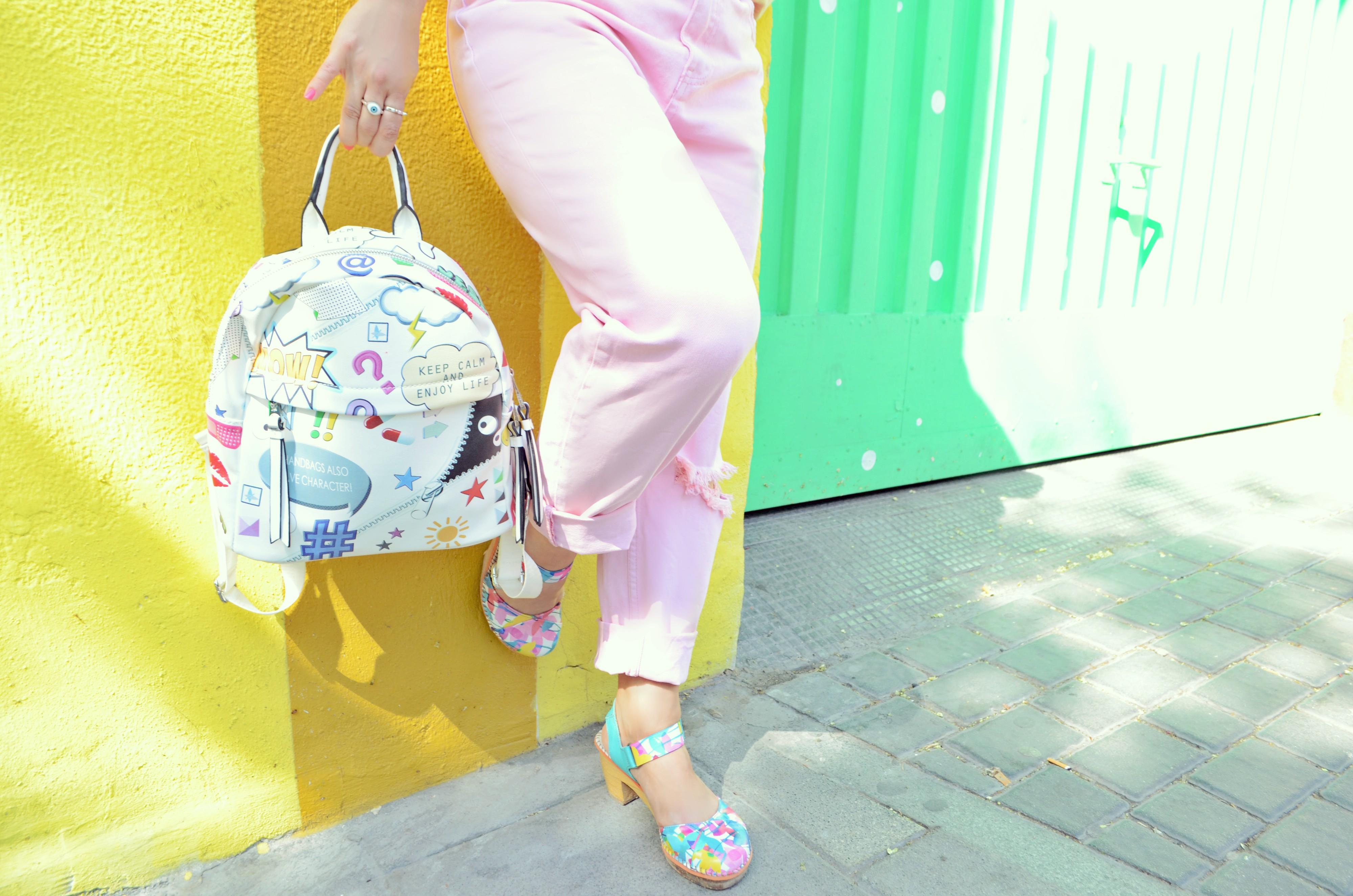 Zapatos-the-art-company-bolsos-pepemoll-ChicAdicta-fashionista-Chic-Adicta-vaqueros-rosa-influencer-espana-fun-style-PiensaenChic-Piensa-en-Chic