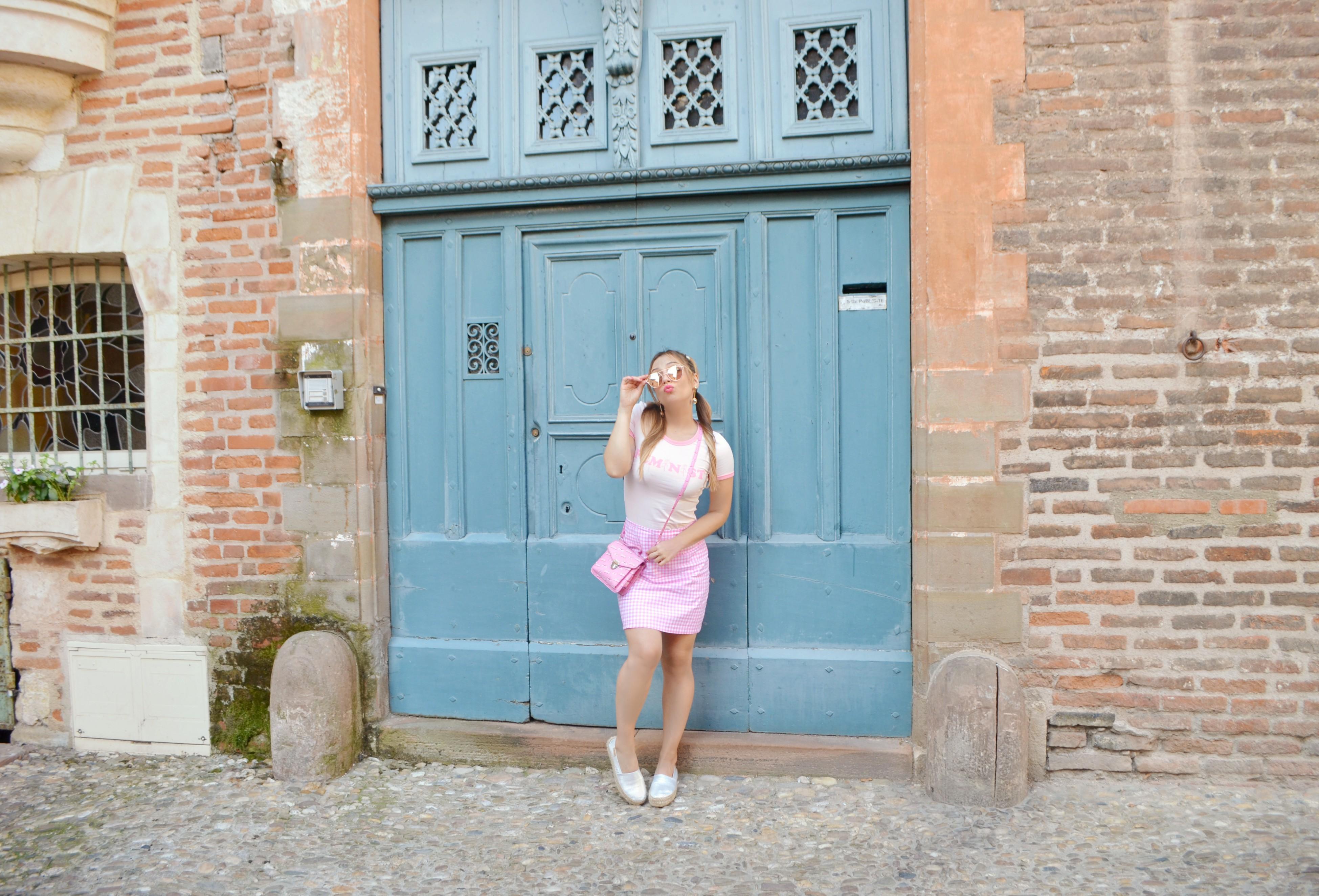 ChicAdicta-blog-de-moda-influencer-vichy-style-Chic-Adicta-fashion-travel-espadrilles-busonier-bolso-Barbie-PiensaenChic-Piensa-en-Chic