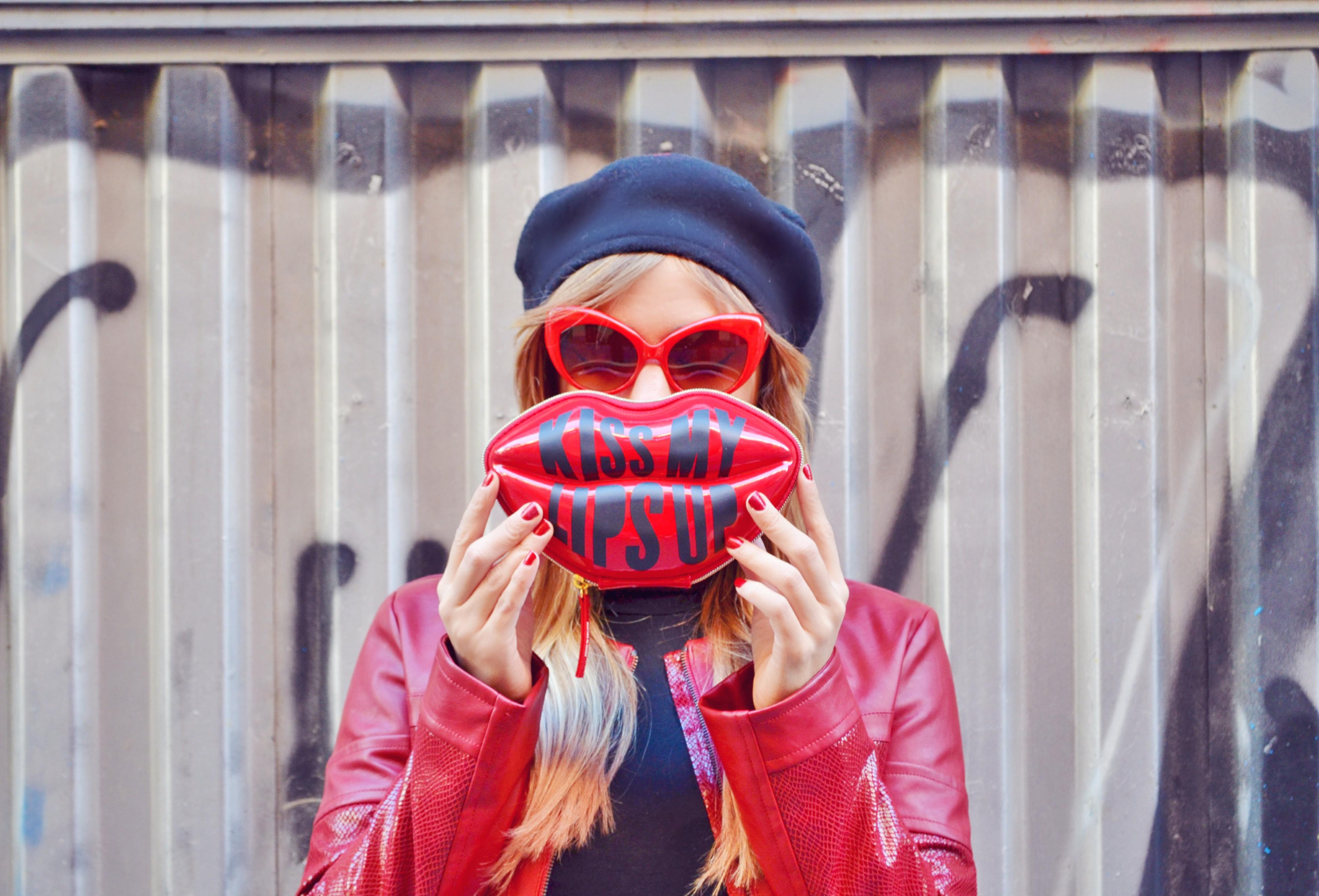 Chaqueta roja piensa en chic - The body shop madrid ...