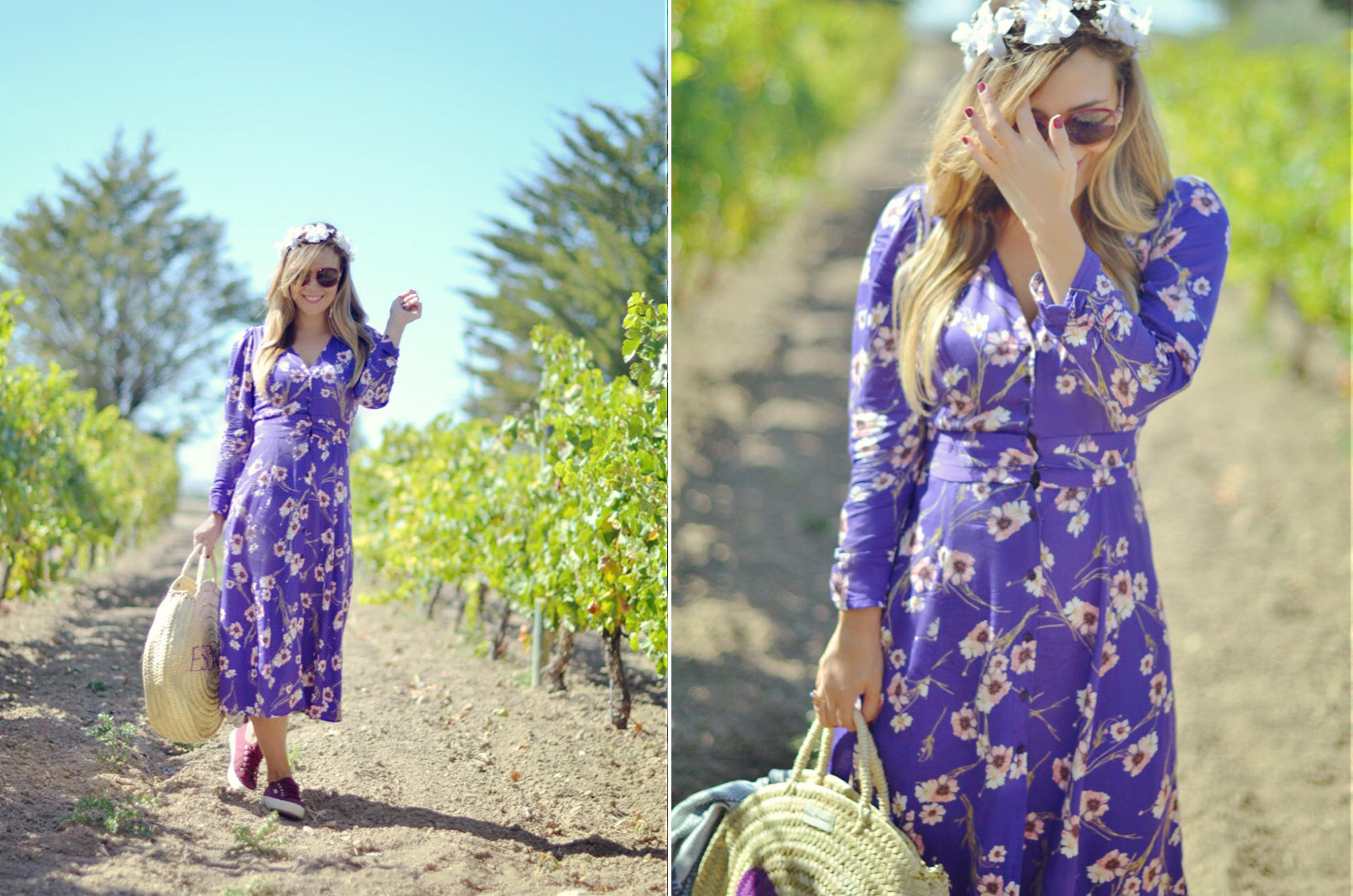 Esdor-Vendimia-Chic-Fashionista-ChicAdicta.blog-de-moda-Chic-Adicta-influencer-zapatillas-superga-vestido-mango-flores-PiensaenChic-Piensa-en-Chic