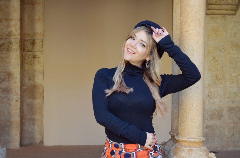 Fashionista-ChicAdicta-influencer-blog-de-moda-Chic-Adicta-look-anos-70-bodegas-emilio-moro-hotel-castilla-termal-PiensaenChic-Piensa-en-Chic