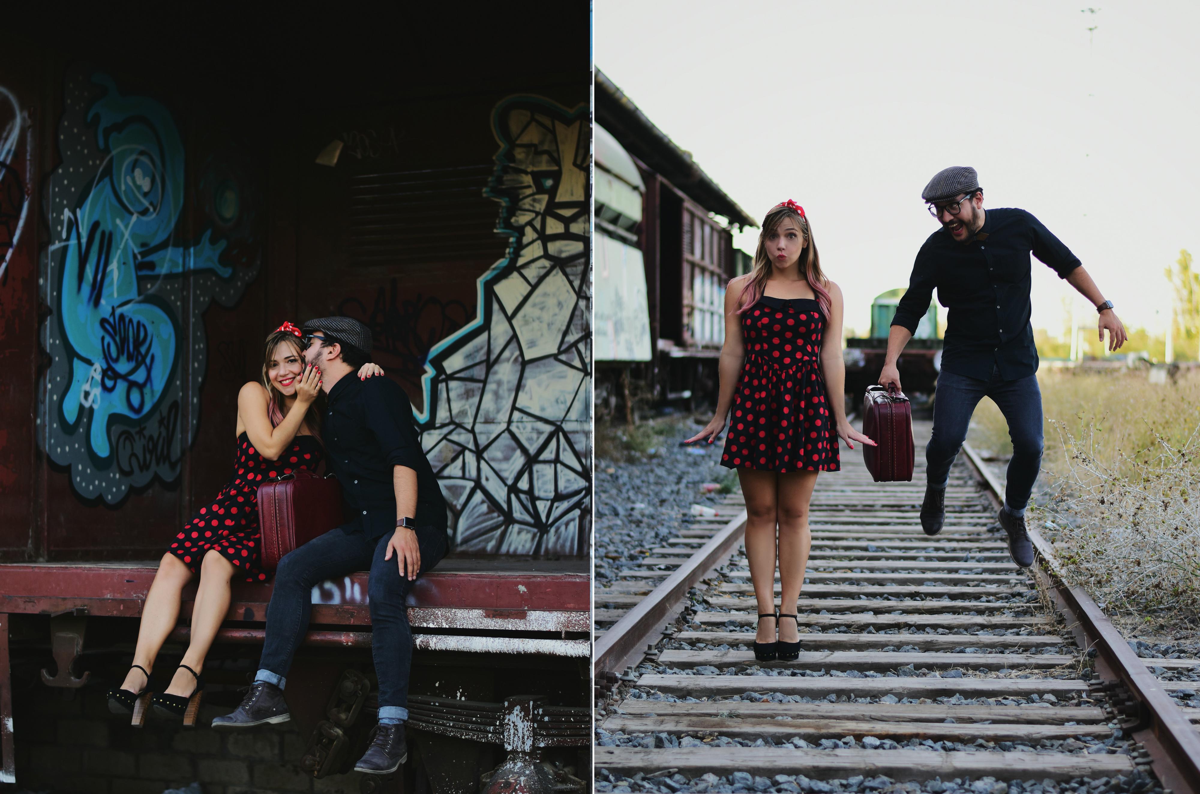 Sesio-de-fotos-pre-boda-ChicAdicta-fabbianifoto-Chic-Adicta-influencer-Madrid-blog-de-moda-look-retro-lunares-PiensaenChic-Piensa-en-Chic