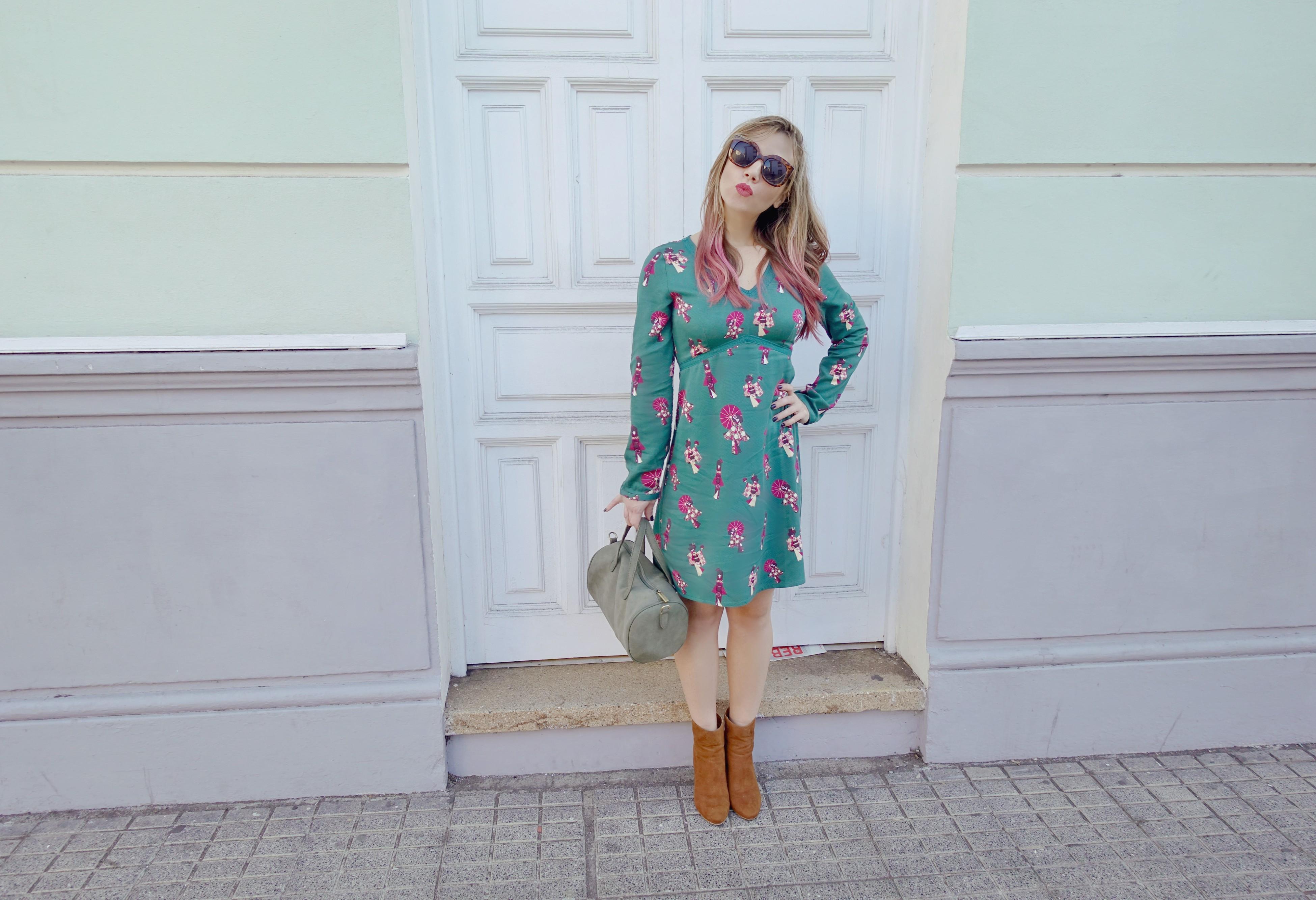 Surkana-blog-de-moda-fashionista-ChicAdicta-influencer-Tenerife-fashion-Chic-Adicta-vestido-verde-PiensaenChic-Piensa-en-Chic