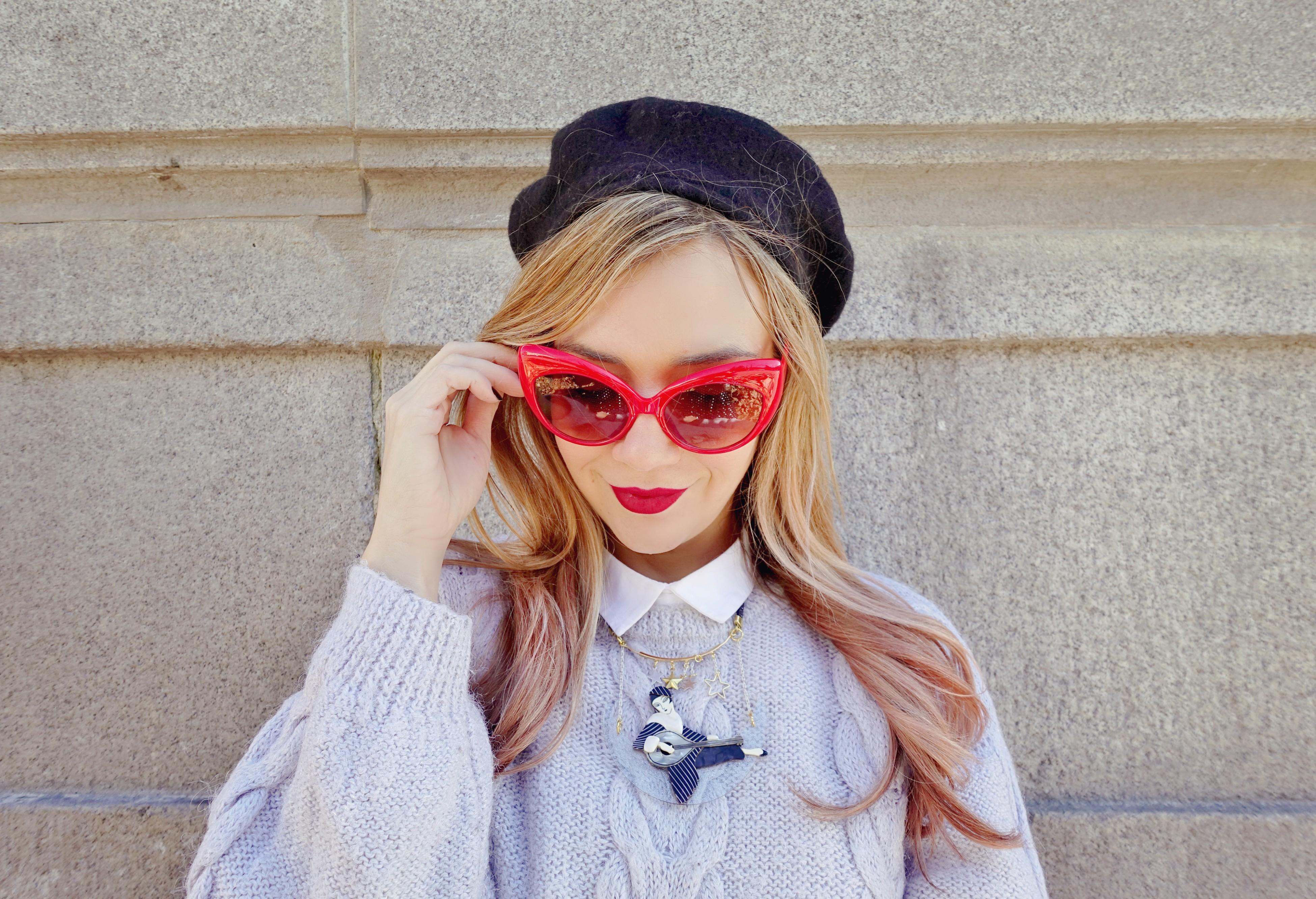 Accesorios-laliblue-blog-de-moda-ChicAdicta-fashionista-retro-look-gafas-vintage-silver-outfit-PiensaenChic-influencer-Piensa-en-Chic