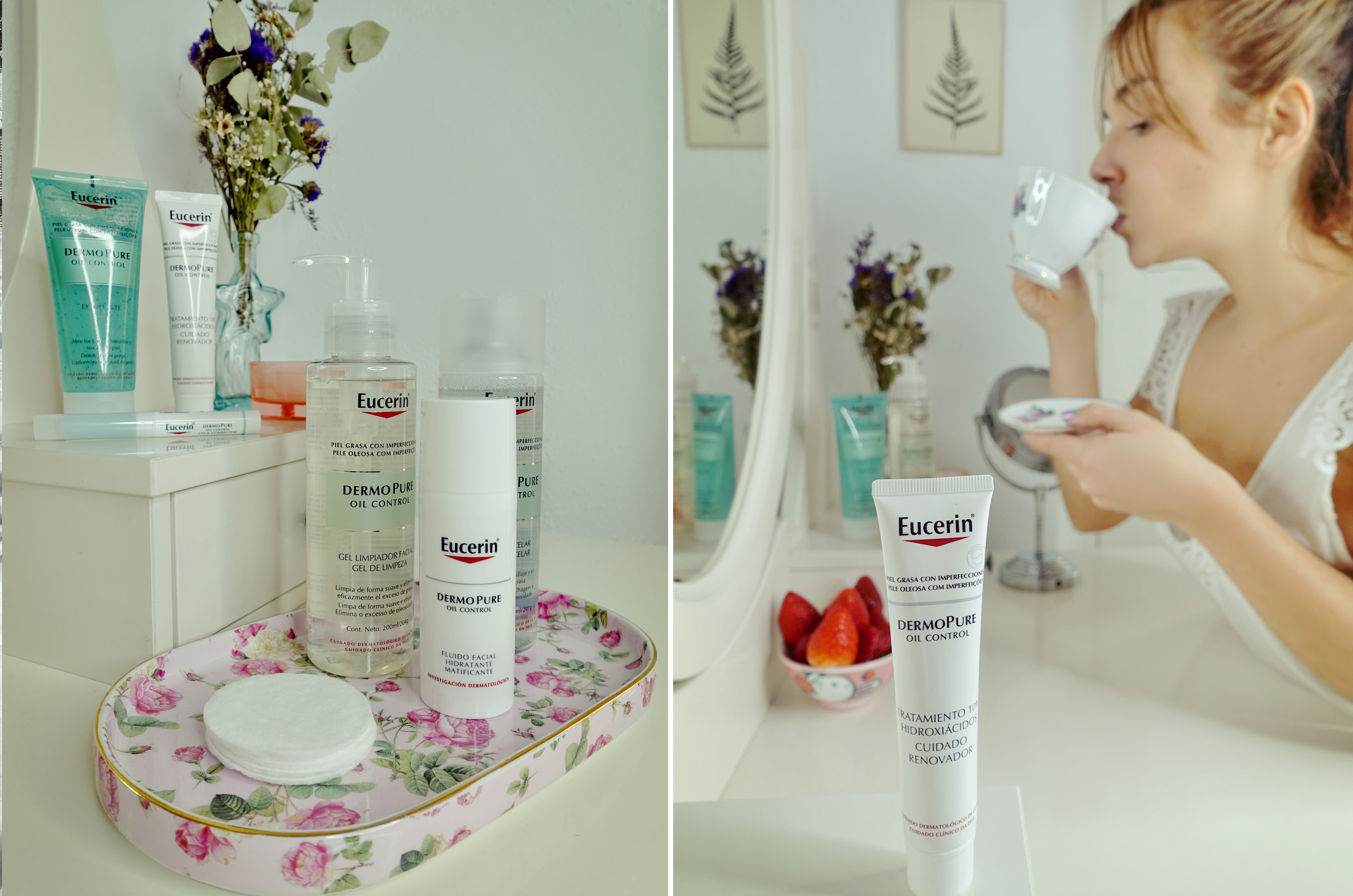 Dermopure-Eucerin-tratamiento-para-acne-blog-de-belleza-ChicAdicta-influencer-Chic-Adicta-hidratante-piel-grasa-PiensaenChic-Piensa-en-Chic
