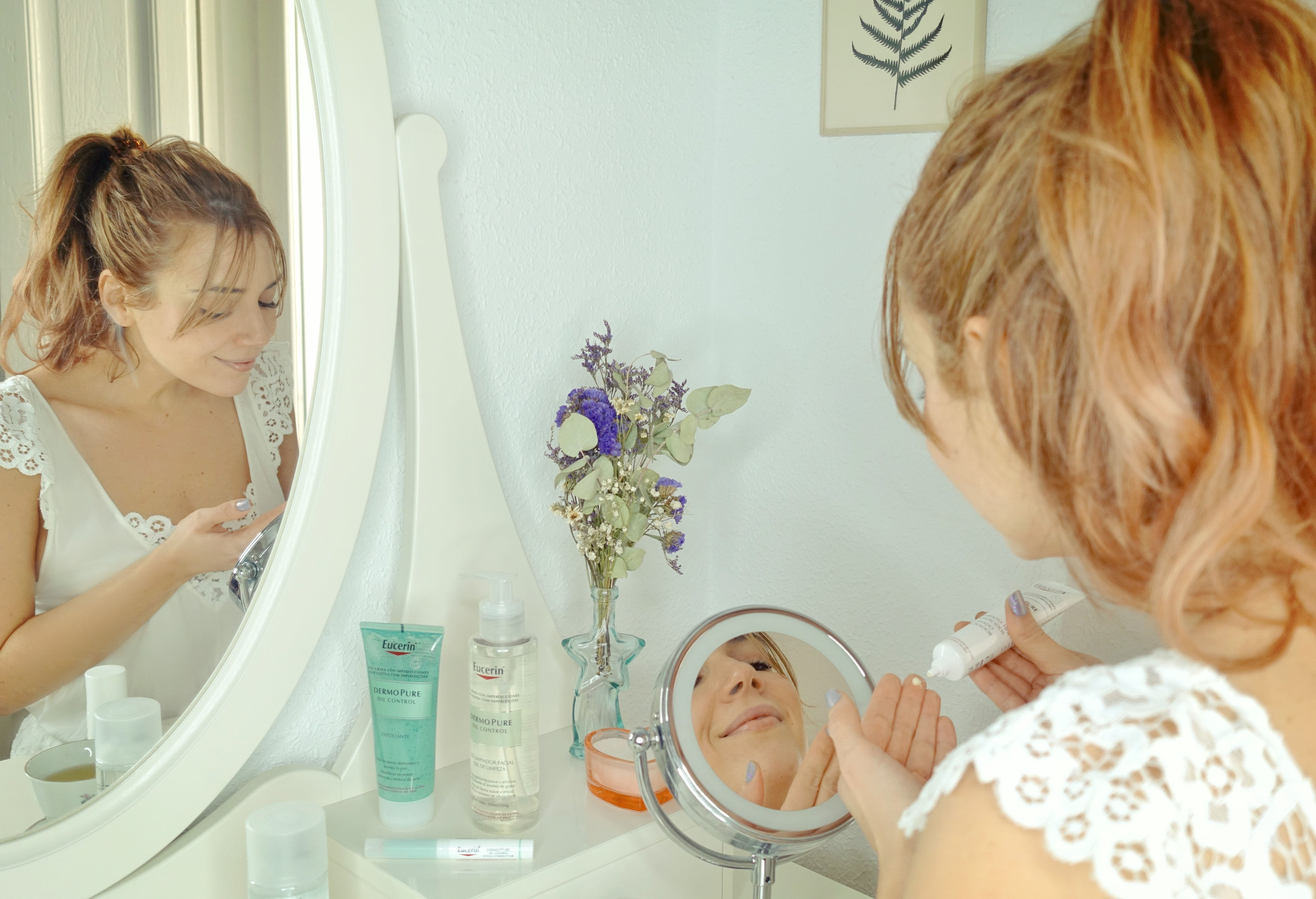 Fashionista-tratamiento-para-el-acne-Dermopure-Eucerin-ChicAdicta-influencer-espana-Chic-Adicta-piel-grasa-PiensaenChic-Piensa-en-Chic