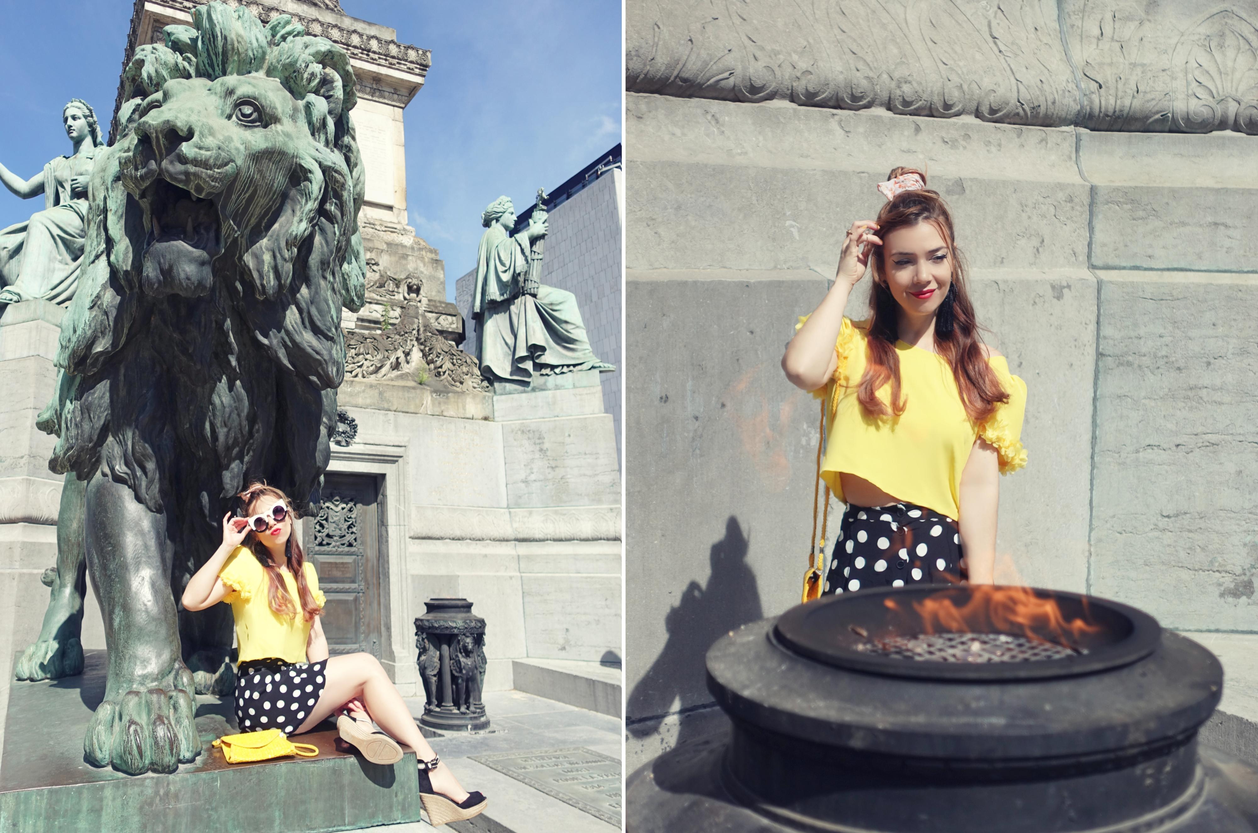 Blusa-aramat-fashion-blog-de-moda-Chicadicta-influencer-PiensaenChic-travelblogger-Chic-adicta-falda-de-lunares-Piensa-en-Chic
