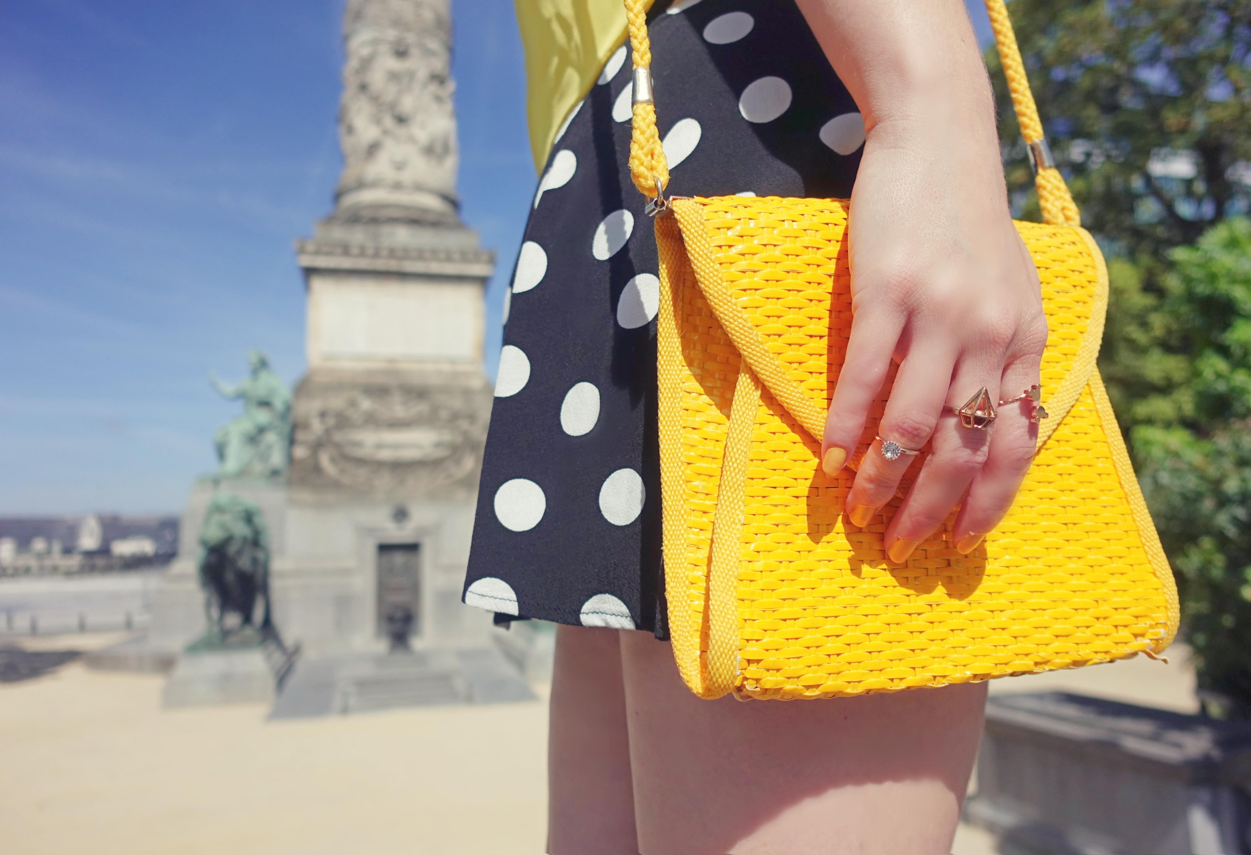 Bolsos-de-verano-PiensaenChic-blog-de-moda-ChicAdicta-influencer-polkadot-style-outfit-amarillo-Chic-adicta-Piensa-en-Chic