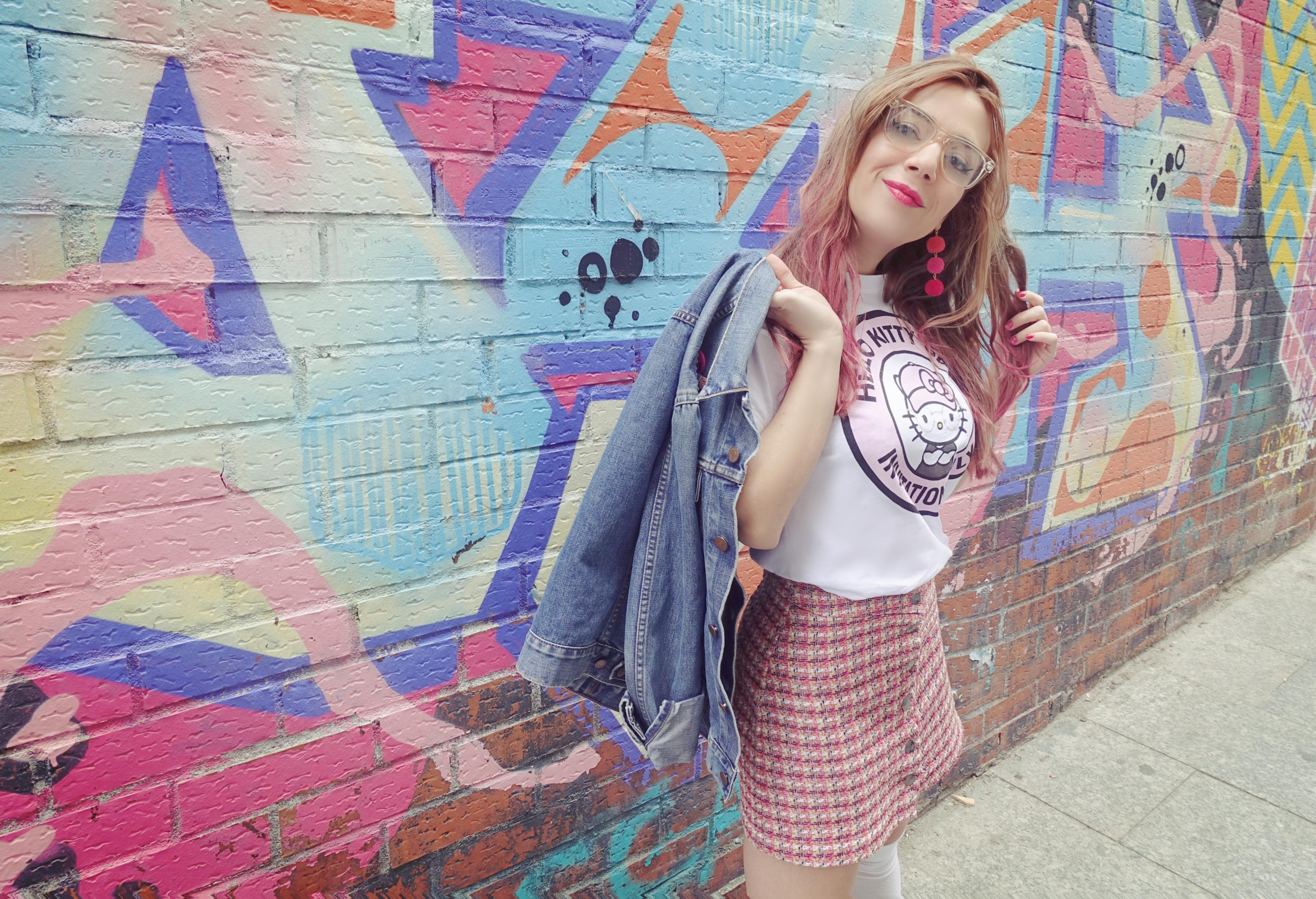 Clueless-look-ChicAdicta-blog-de-moda-PiensaenChic-Chic-Adicta-influencer-madrid-falda-pata-de-gallo-pink-outfit