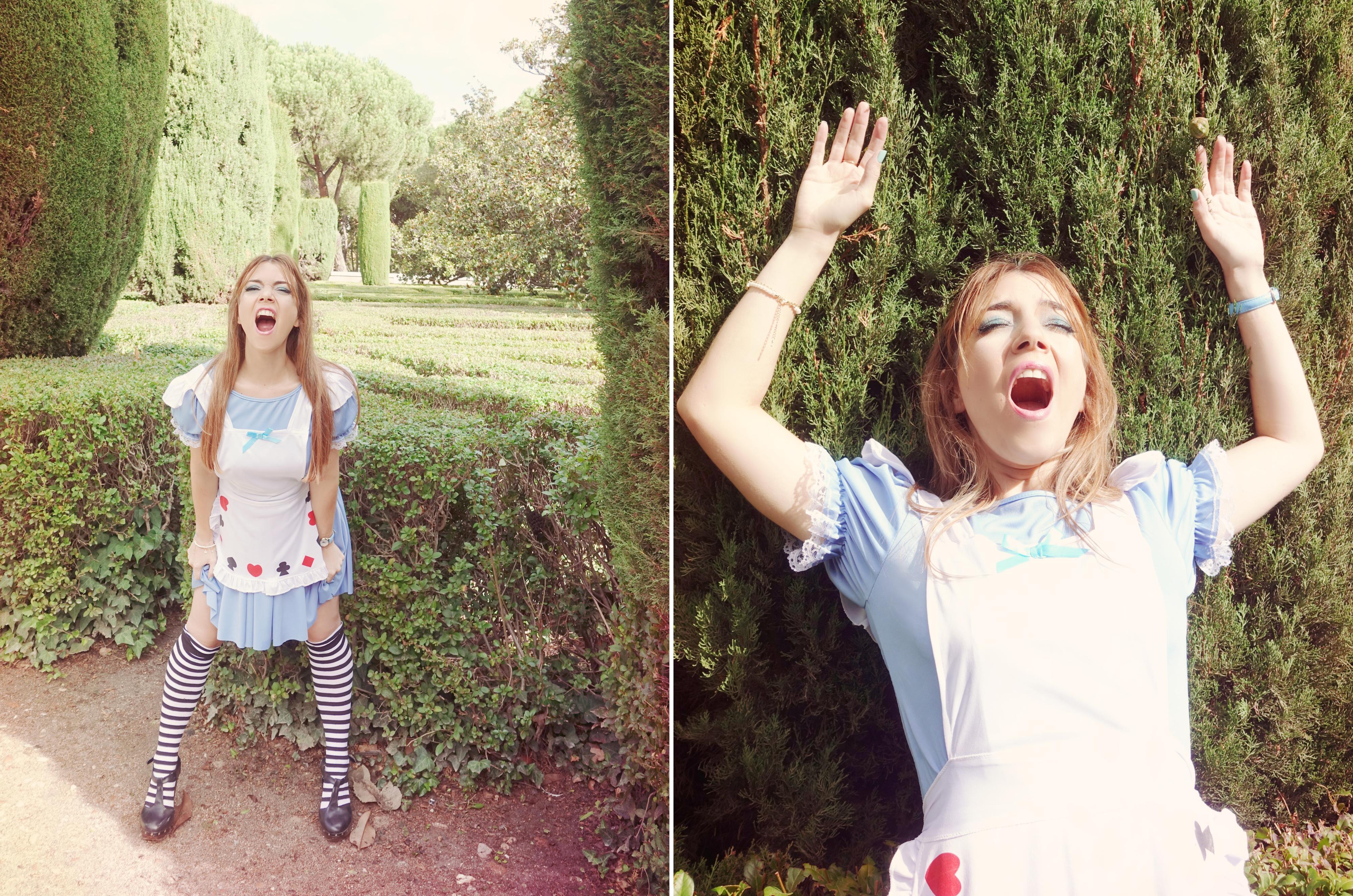 Alicia-en-el-pais-de-las-maravillas-disfraz-halloween-PiensaenChic-blog-de-moda-Chicadicta-influencer-spain-fashuinista-Chic-adicta-Piensa-en-Chic