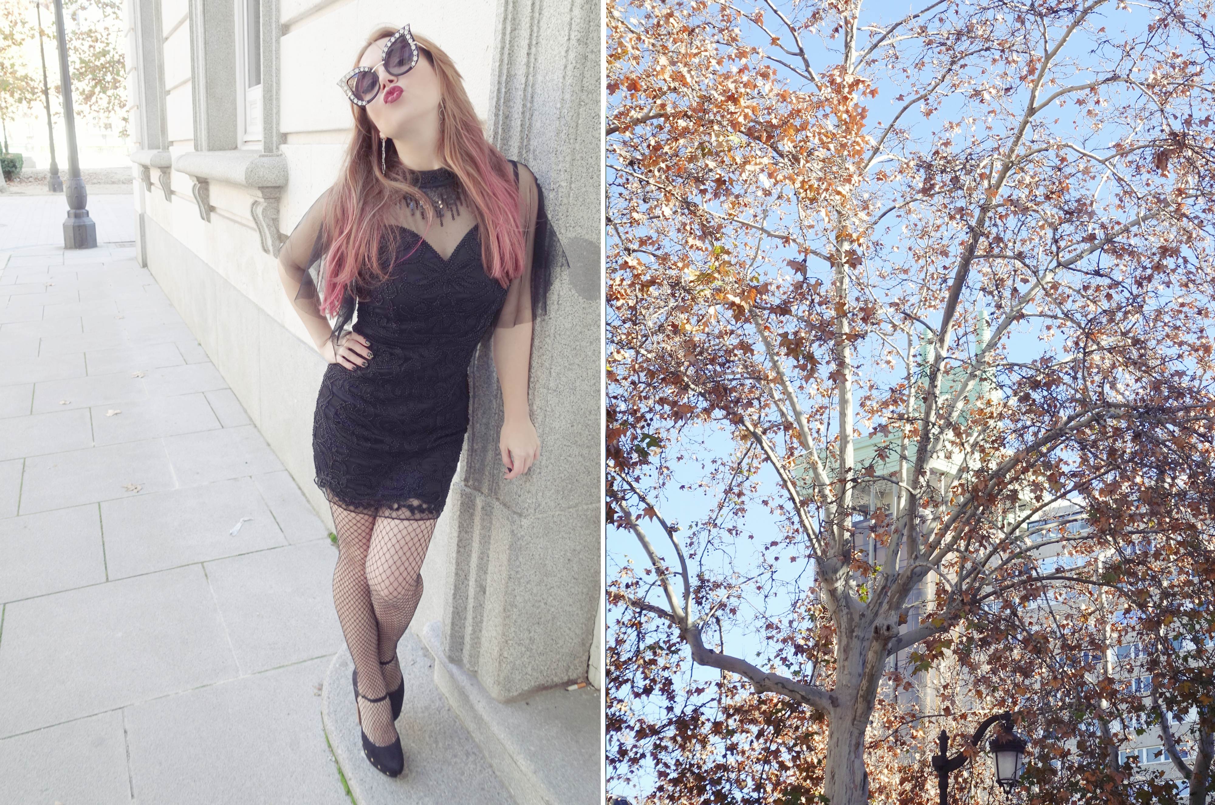 Madrid-street-style-PiensaenChic-fashionista-blog-de-moda-ChicAdicta-Molly-bracken-dress-vestidos-negros-hipster-glasses-Chic-Adicta-Piensa-en-Chic