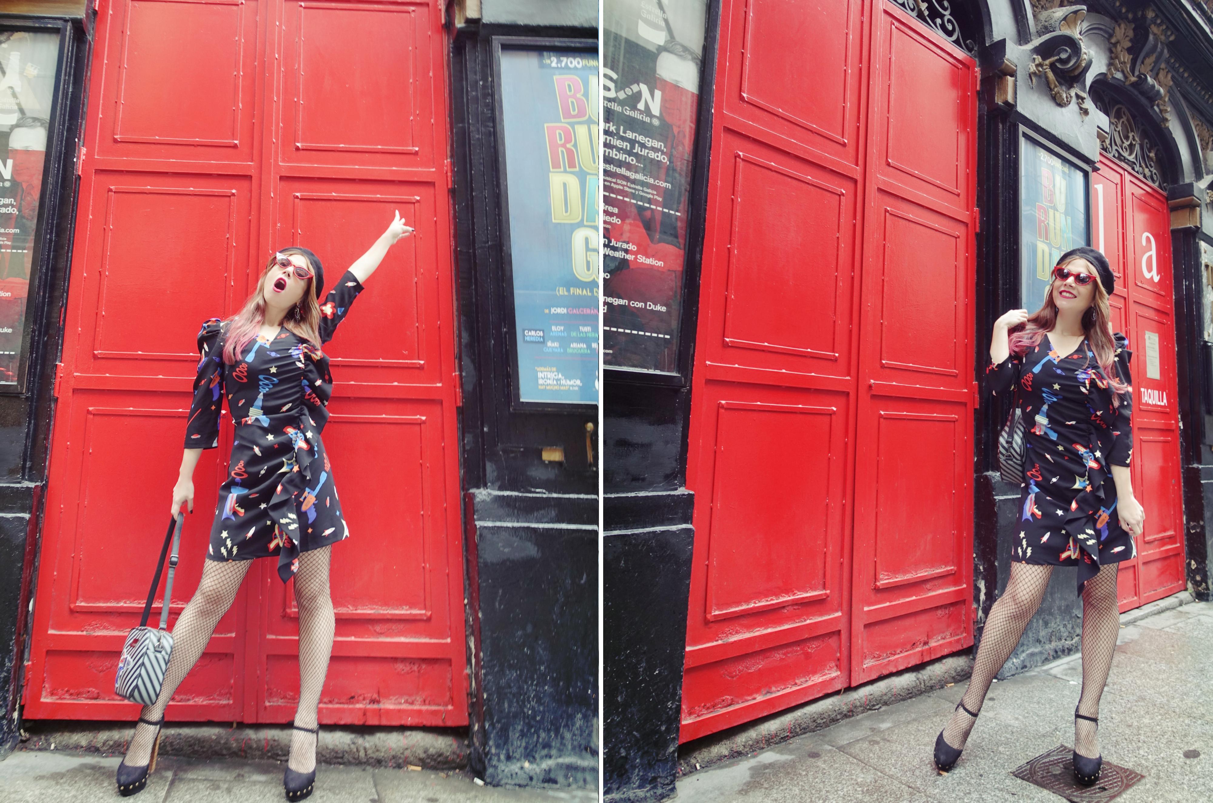 Moda-invierno-2019-PiensaenChic-blog-de-moda-ChicAdicta-influencer-jetsons-dress-Minueto-fashionista-vestidos-divertidos-pelo-rosa-Chic-adicta-Piensa-en-Chic