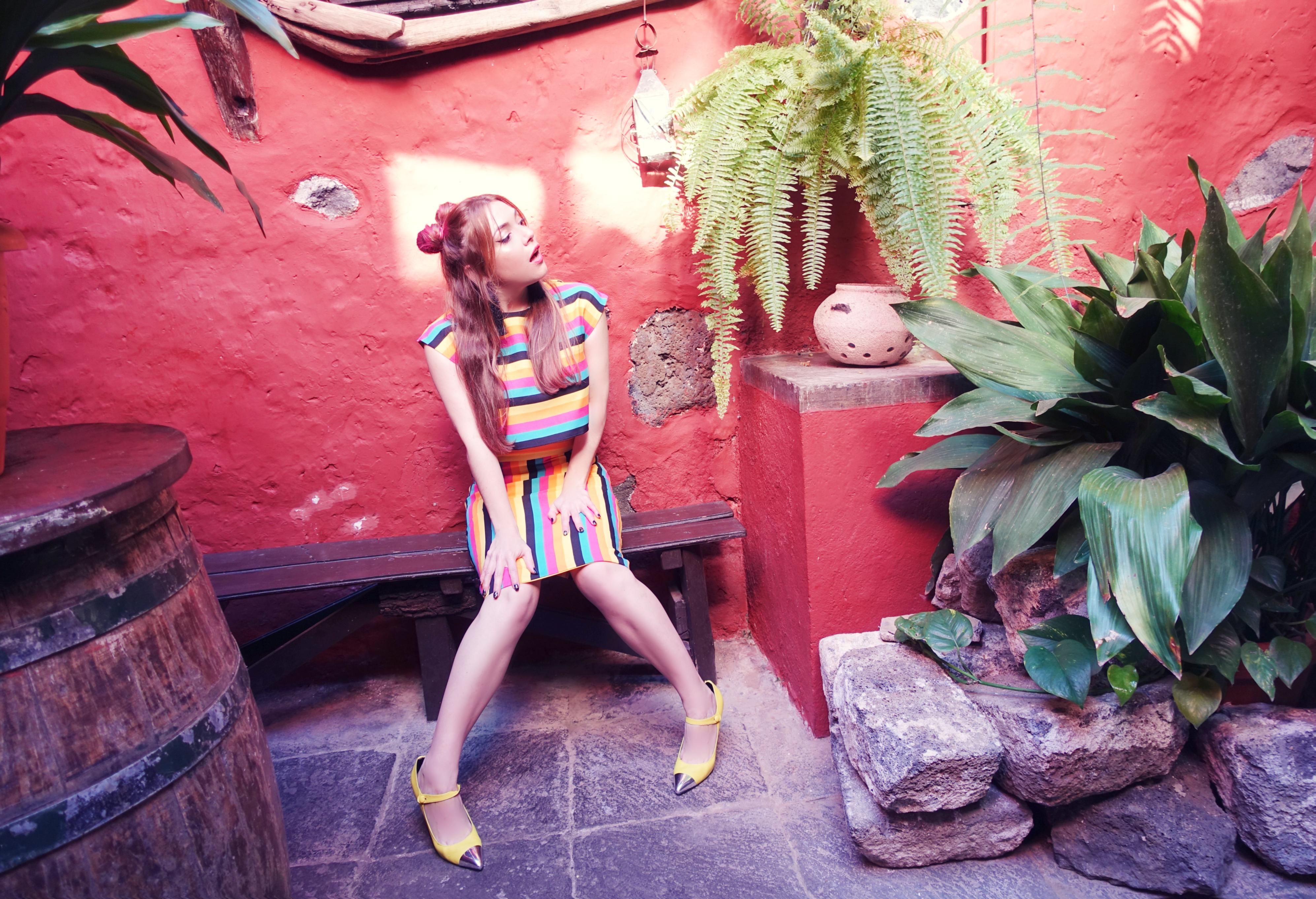 Pretty-blogger-PiensaenChic-blog-de-moda-ChicAdicta-influencer-que-ver en-tenerife-falda-de-rayas-ana-de-valle-trends-2019-Chic-adicta-Piensa-en-Chic